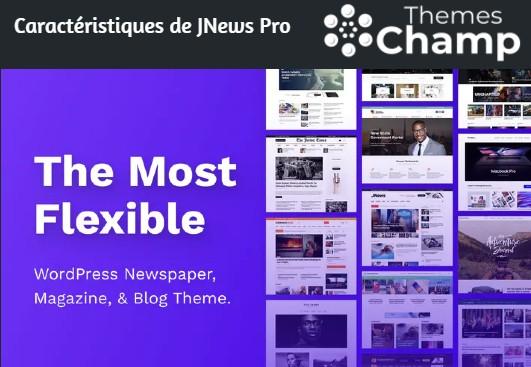 Caractéristiques de JNews Pro