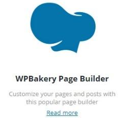 Logo de Créateur de pages WPBakery