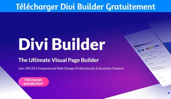 Télécharger Divi Builder Gratuitement