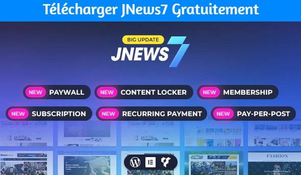 Télécharger JNews7 Gratuitement