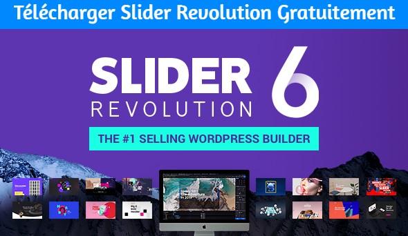 Télécharger Slider Revolution Gratuitement