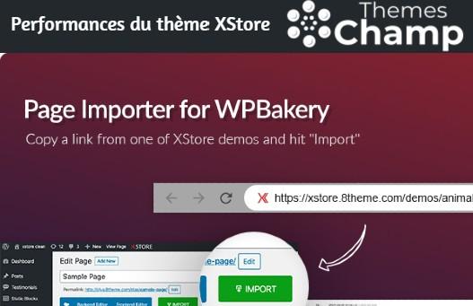 importateur de pages pour WPBakery