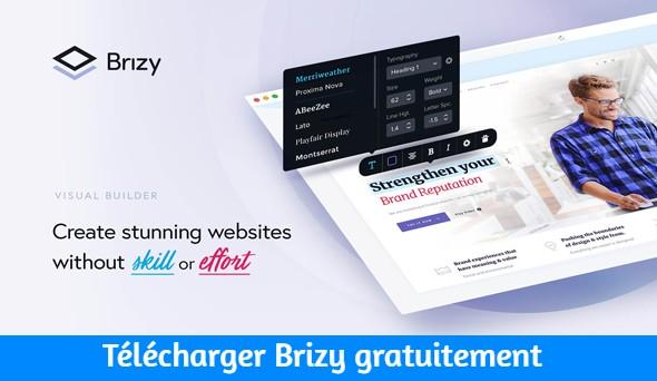 Télécharger Brizy gratuitement