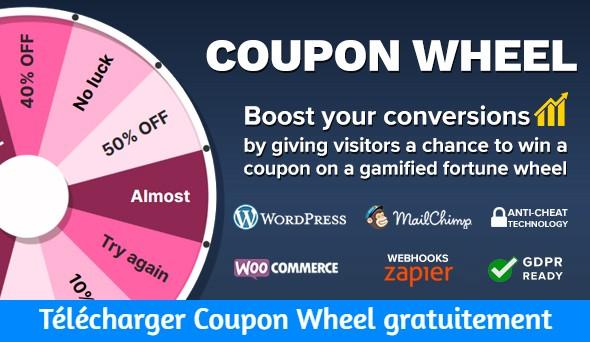 Télécharger Coupon Wheel gratuitement