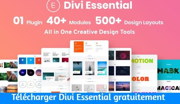 Télécharger Divi Essential gratuitement