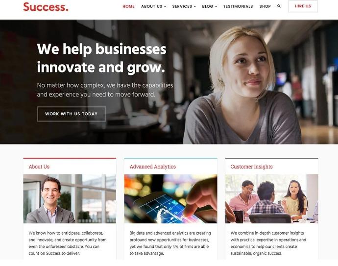Thème success