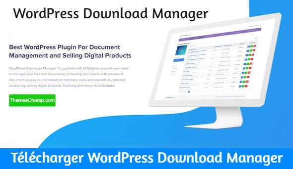 Le plugin WordPress Download Manager