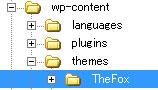 Upload Thefox via FTP