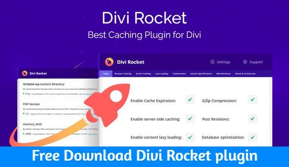 Free Download Divi Rocket plugin nulled