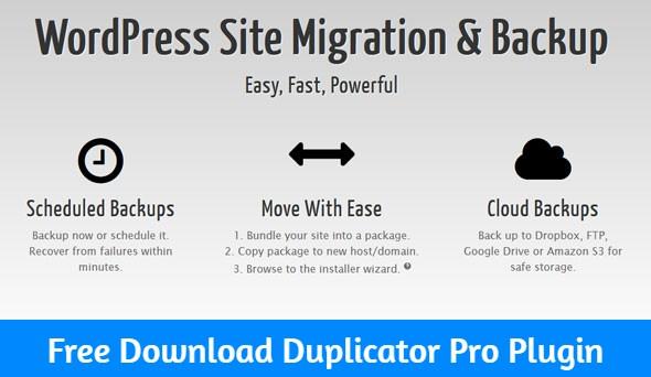 Free Download Duplicator Pro Plugin Nulled