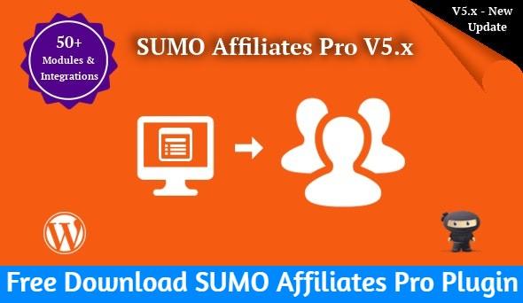 Free Download SUMO Affiliates Pro Plugin Nulled