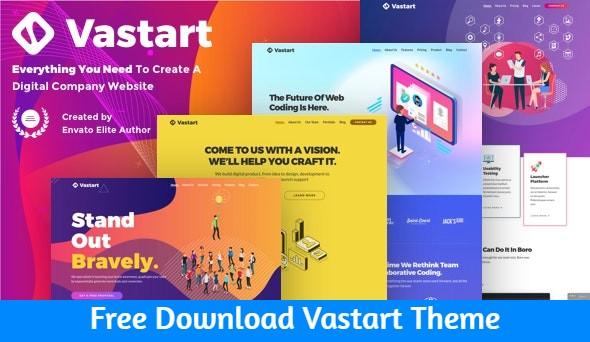 Free Download Vastart Theme Nulled